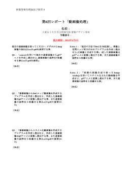 レポート内容・雛形(Report06)