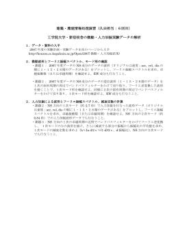2008建築環境情報処理演習