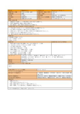 機械設計法Ⅰ