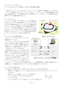 5.インタフェースプログラミング