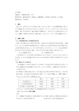πの研究 - 沖縄県立向陽高等学校
