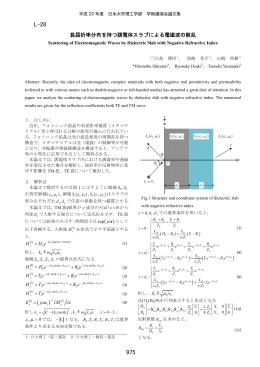 誘電体スラブ - 日本大学理工学部