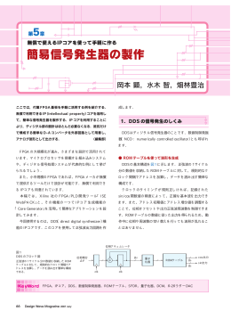 簡易信号発生器の製作