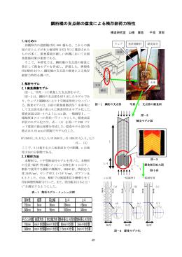 鋼桁橋の支点部の腐食による残存耐荷力特性