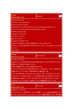 A Beng 2005/10/14(金) 18:32 Formosa Tange sian-siN li2