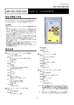 AXP-SI01 PCカードRS
