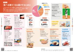 「食べる喜び」をお届けするために 22,550人 5,695人