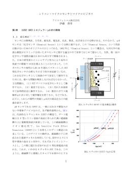シリコン・マイクロセンサとマイクロビジネス 伊藤 善孝