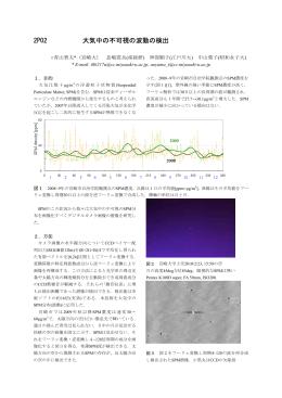 2P02 大気中の不可視の波動の検出