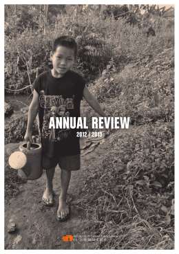 ANNUAL REVIEW - Refugees International Japan