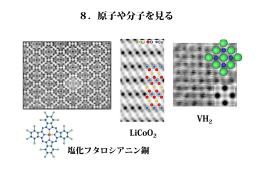 8.原子や分子を見る