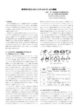 STL機能開発 - 東京電機大学:新津研究室