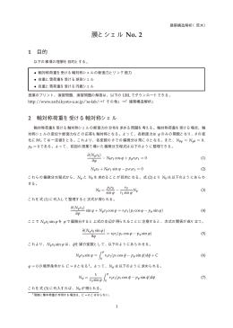 膜とシェル No. 2