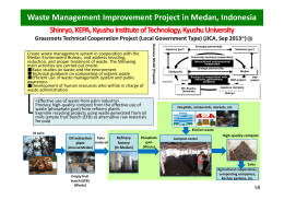 Waste Management Improvement Project in Medan, Indonesia