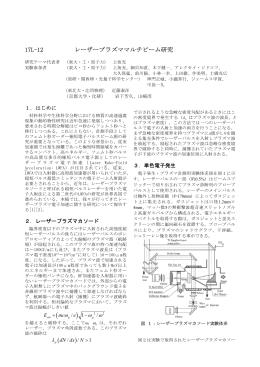 17L-12 レーザープラズママルチビーム研究