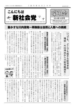 PDF - 新社会党
