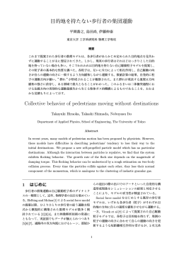 論文PDF - Physics of Traffic