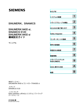 表示する - Industry Support Siemens