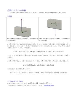 分配法則の図形的説明