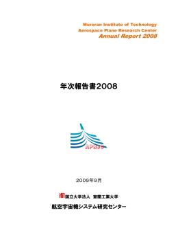 2008年度年次報告書