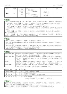 数学 - 福島県立平工業高等学校