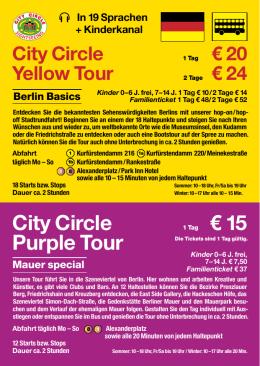 City Circle - BBS Berliner Stadtrundfahrt