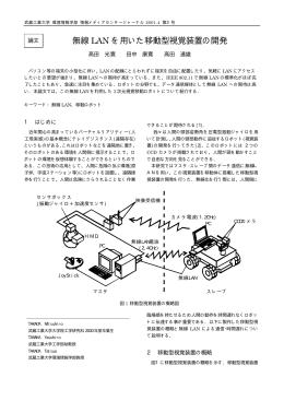 無線 LAN を用いた移動型視覚装置の開発