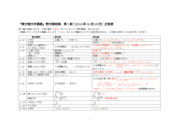 『微分積分学講義』野村隆昭著,第1刷(2013年10月25日)正誤表