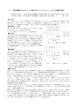 演題番号21~31 - 山形県放射線技師会