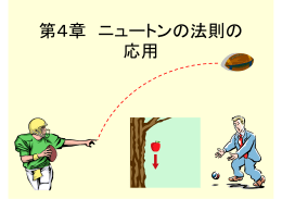 第4章 ニュートンの法則の応用(1)(5/25)