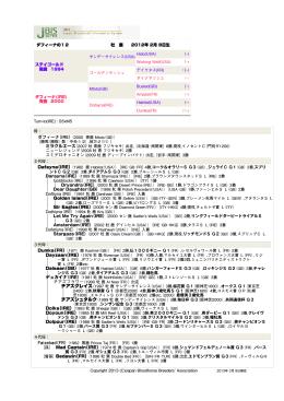 ダフィーナ(IRE)(2000 青鹿 Mtoto(GB)) ニューレジェンド(2008 牡青