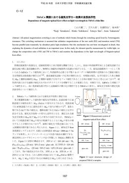 磁気光学効果 - 日本大学理工学部