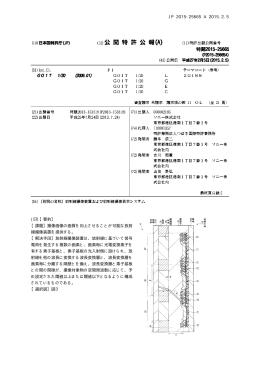 JP 2015-25665 A 2015.2.5 10 (57)【要約】 【課題】撮像画像の画質を