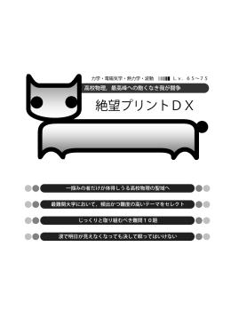 絶望プリントDX (難度:65~75)
