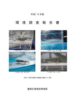 環 境 調 査 報 告 書