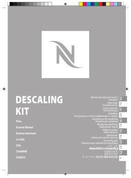 DESCALING KIT