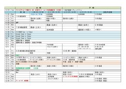 AMPM 柔道<光本> 柔道<光本> 5:00 柔道 11/26 Tue 7:00 寝技