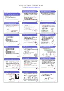 第3回配付資料 - 佐藤勝昭研究室