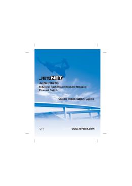 JetNet 5628G Quick Installation Guide