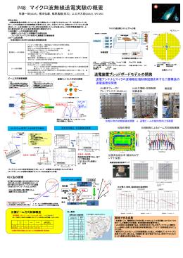 P48 マイクロ波無線送電実験の概要