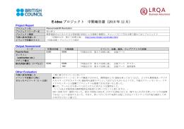 E-idea プロジェクト 中間報告書(2010 年 12 月)
