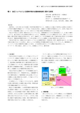 戦-3 油圧ショベルによる掘削作業の自動制御技術に関する