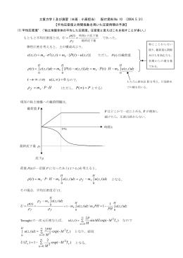 平均圧密度と時間係数を用いた圧密時間の予測