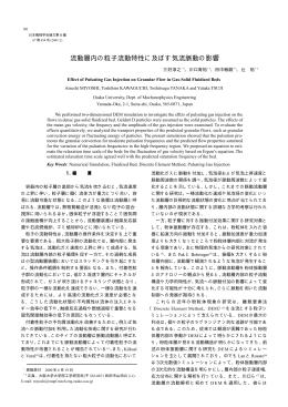PDF 1.5 MB - 大阪大学大学院工学研究科機械物理工学専攻 粒子複雑