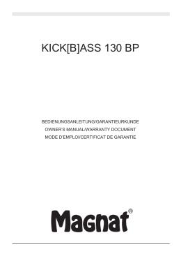 KICK[B]ASS 130 BP