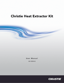 1 The Christie Heat Extractor Kit