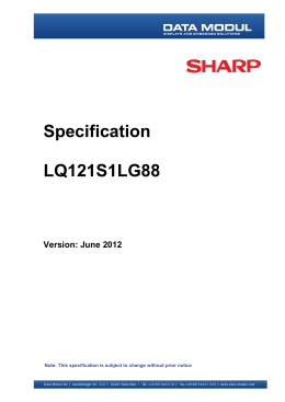 Specification LQ 6 /*