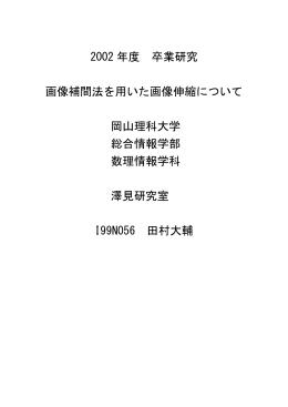 N - 澤見ゼミ