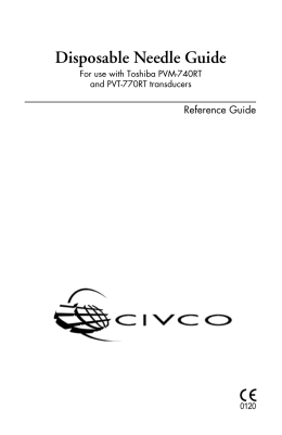 Disposable Needle Guide - CIVCO Medical Solutions