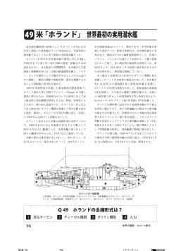 米「ホランド」 世界最初の実用潜水艦